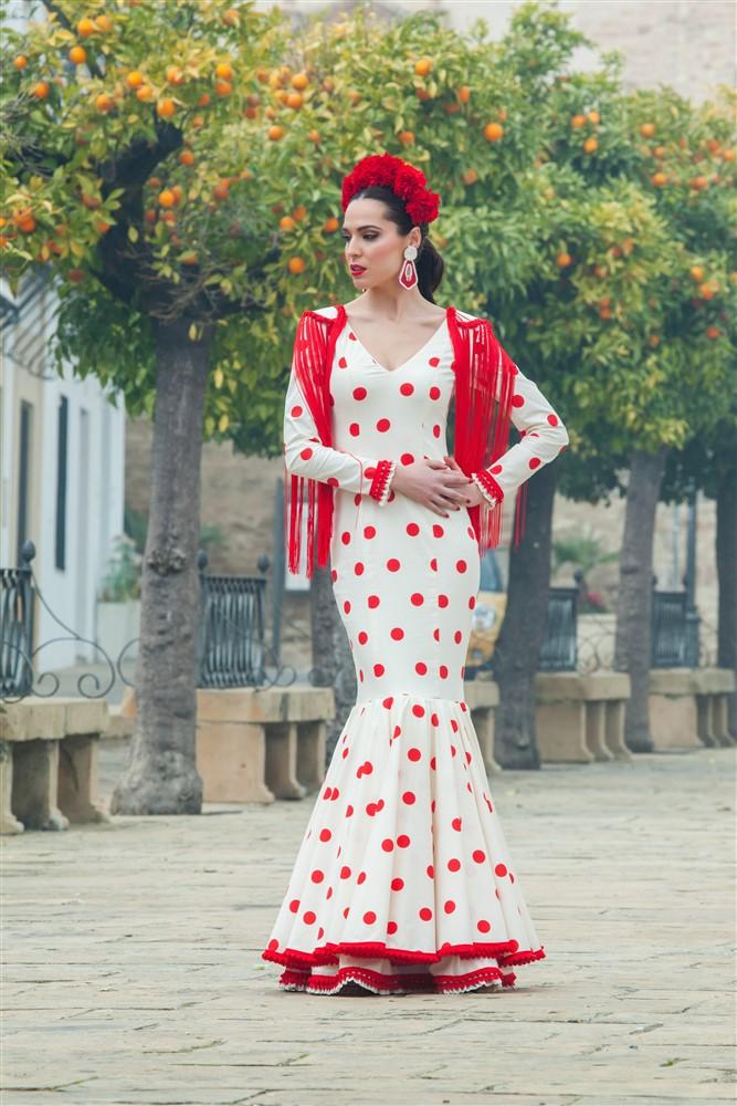 trajes de flamenca arte