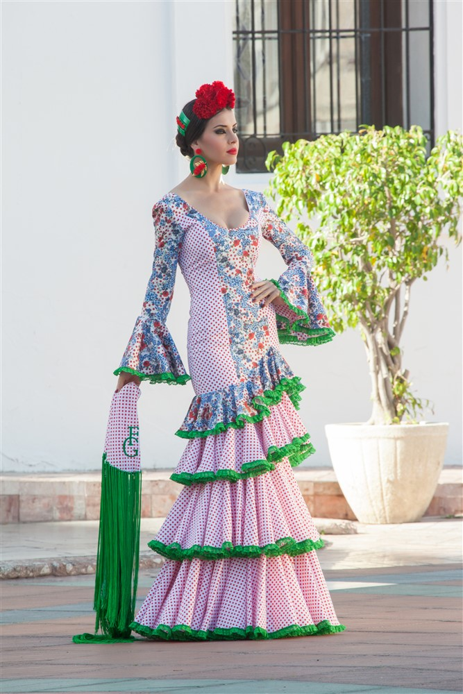 traje flamenca gitanilla