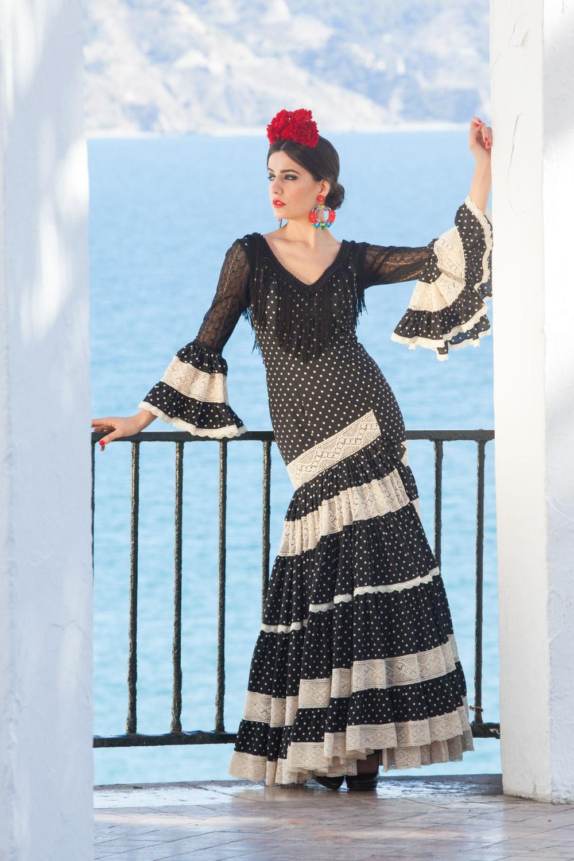 traje flamenca mujer