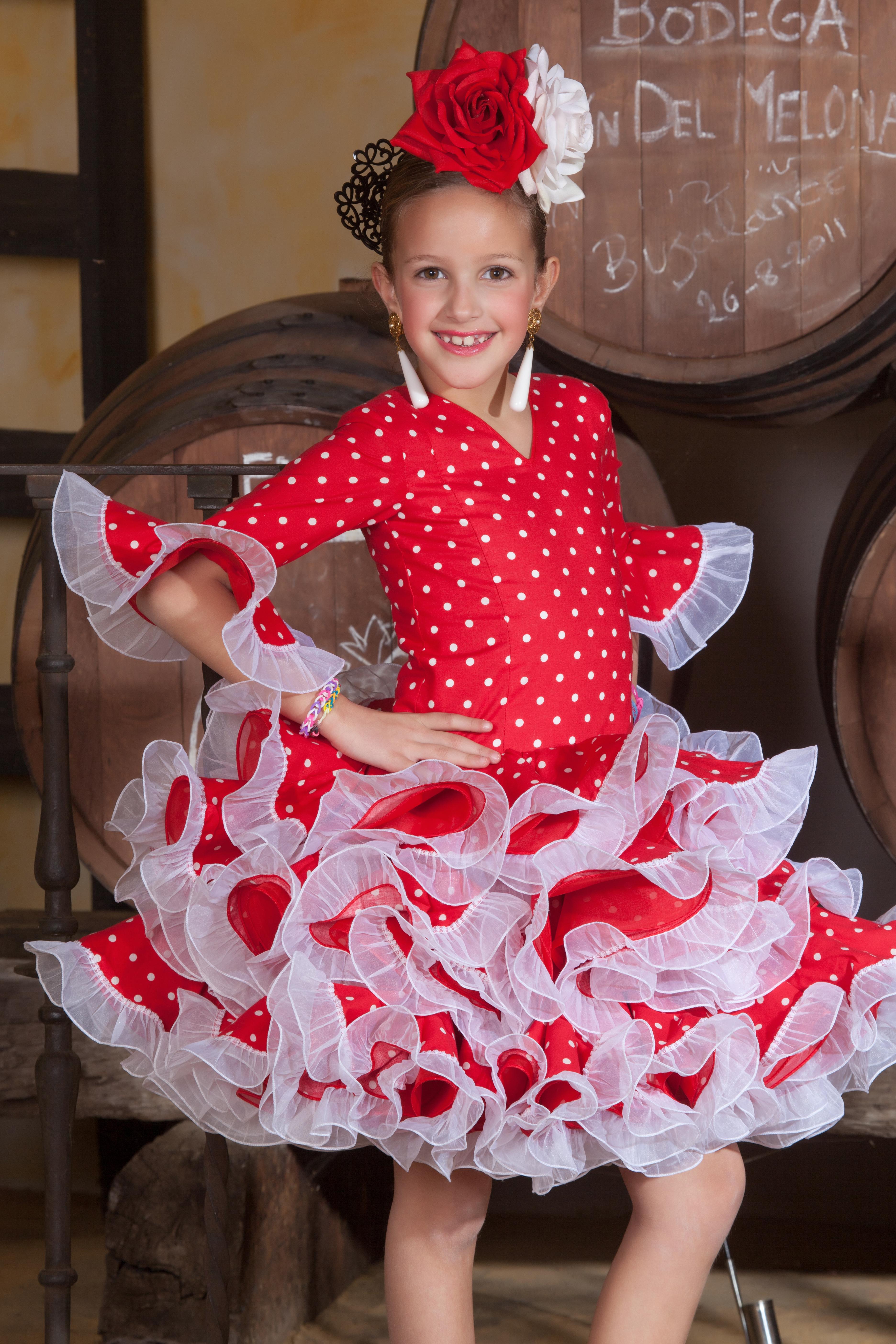 trajes de flamenca para niña