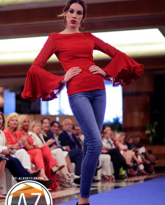 Camisa Flamenca Roja