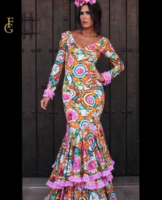 traje flamenca esplendor