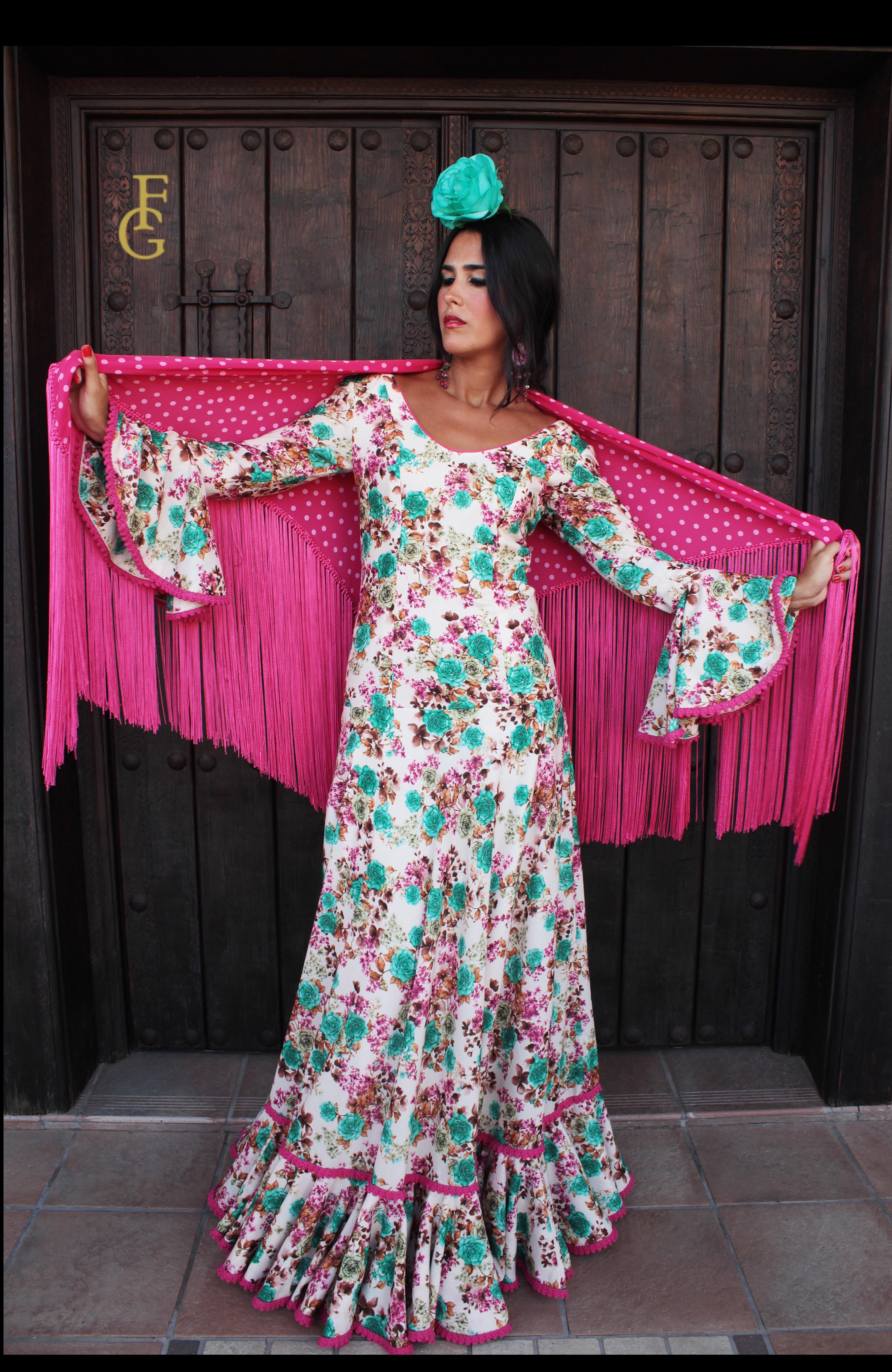 traje flamenca silvestre
