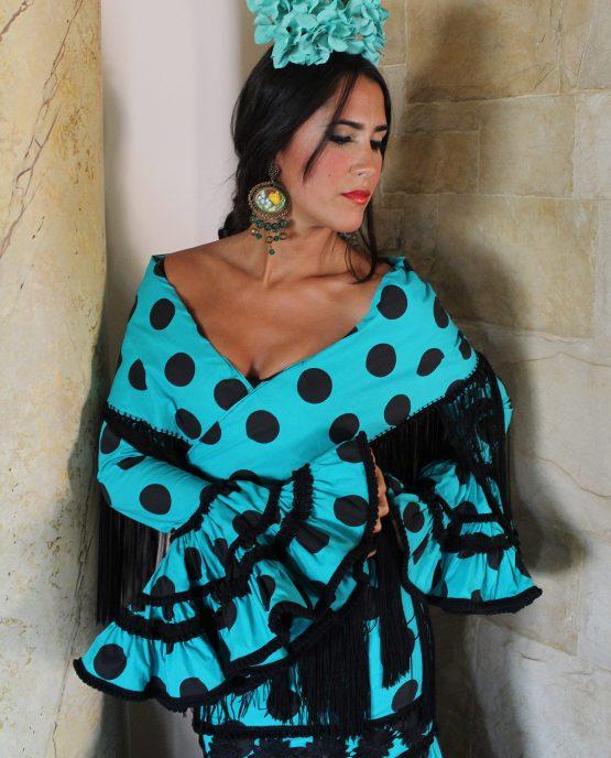 Traje Canastero Agua Dulce- Flamenca Gómez