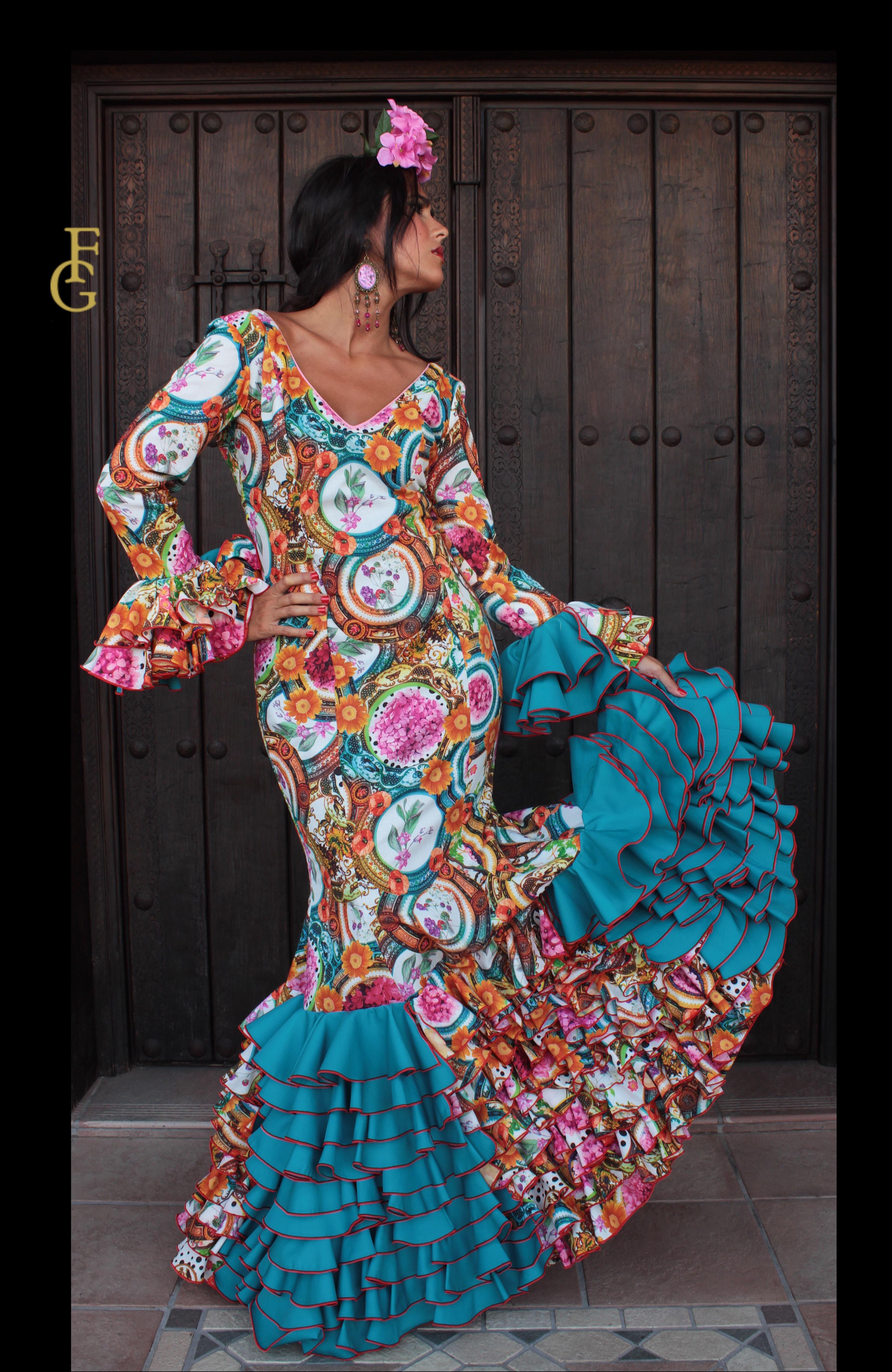 traje flamenca venus