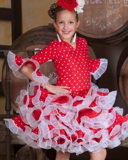 Traje Flamenca Niña Córdoba Elegancia Y Belleza Flamenca Gómez